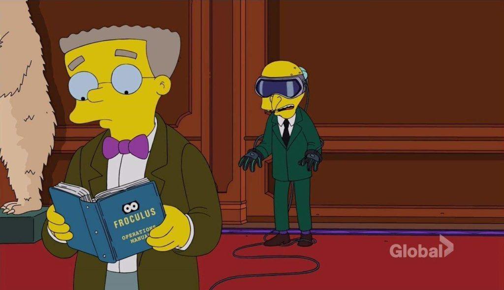 Simpsons Virtual Reality