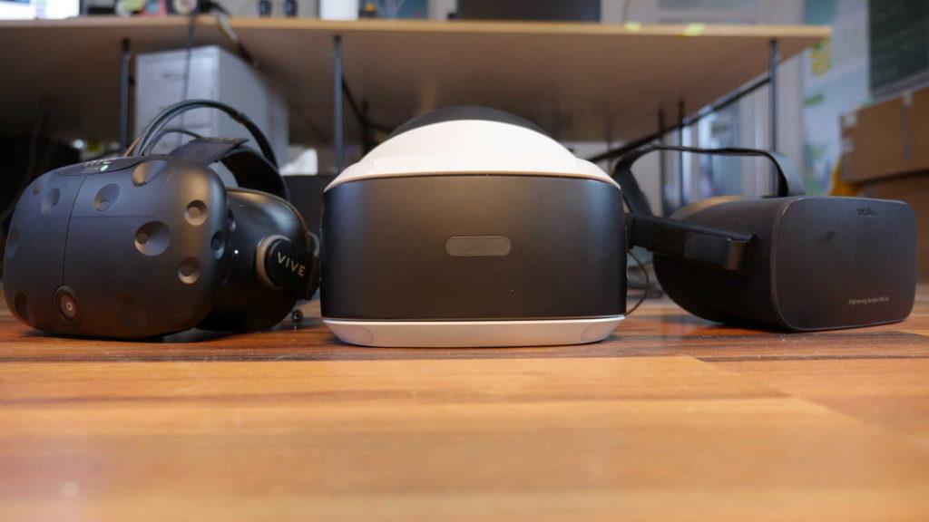 PlayStation VR, Oculus Rift, HTC Vive