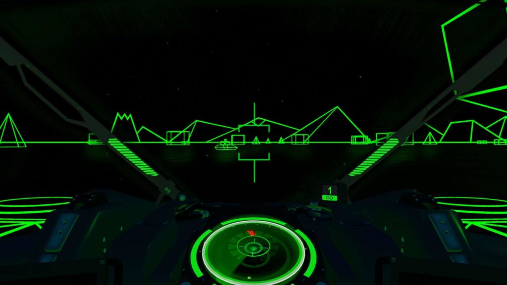 Battlezone PSVR Classic Mode