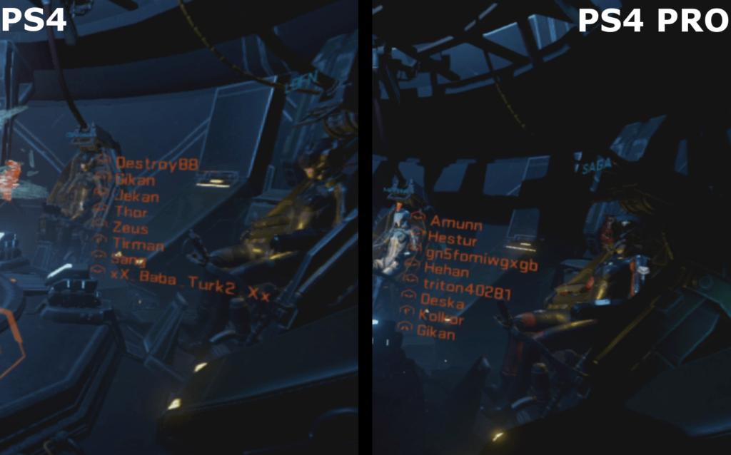 EVE: Valkyrie - PS4 vs. PS4 Pro