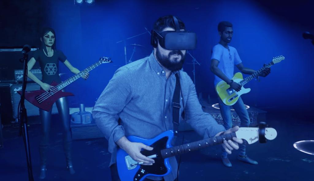 Rock Band VR mit neuem Trailer