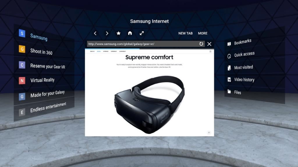 WebVR 1.0 Support