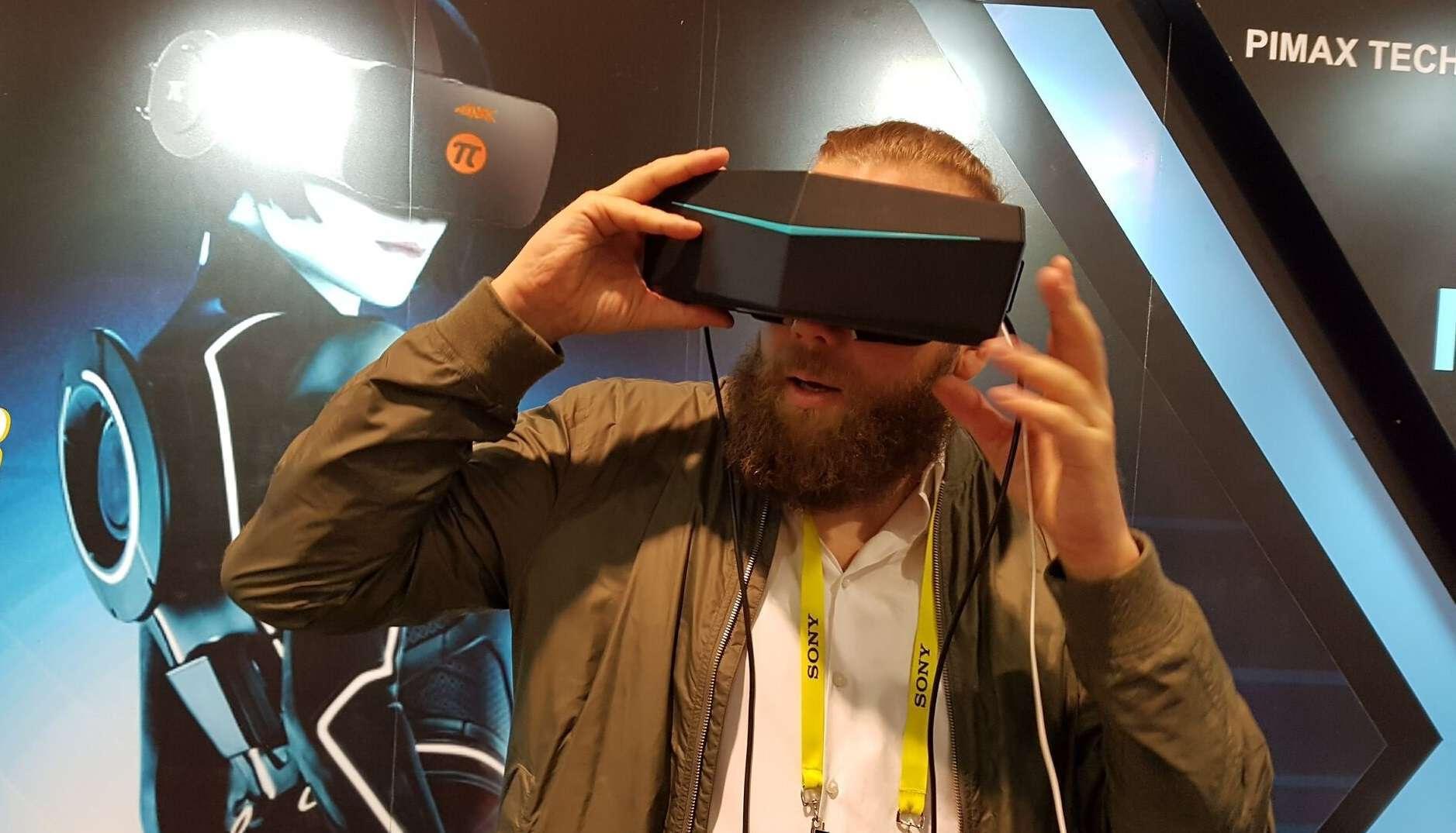 PiMAX 8K VR: Erste Eindrücke zum neuen Headset - VR∙Nerds