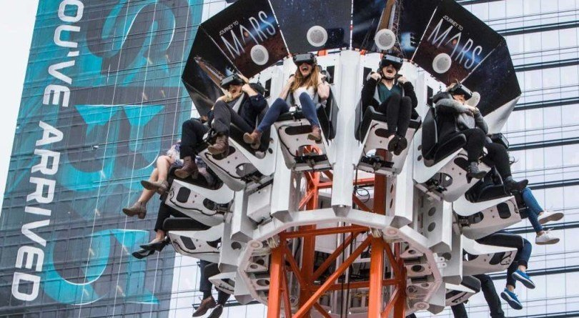 VR Attraktion Turm