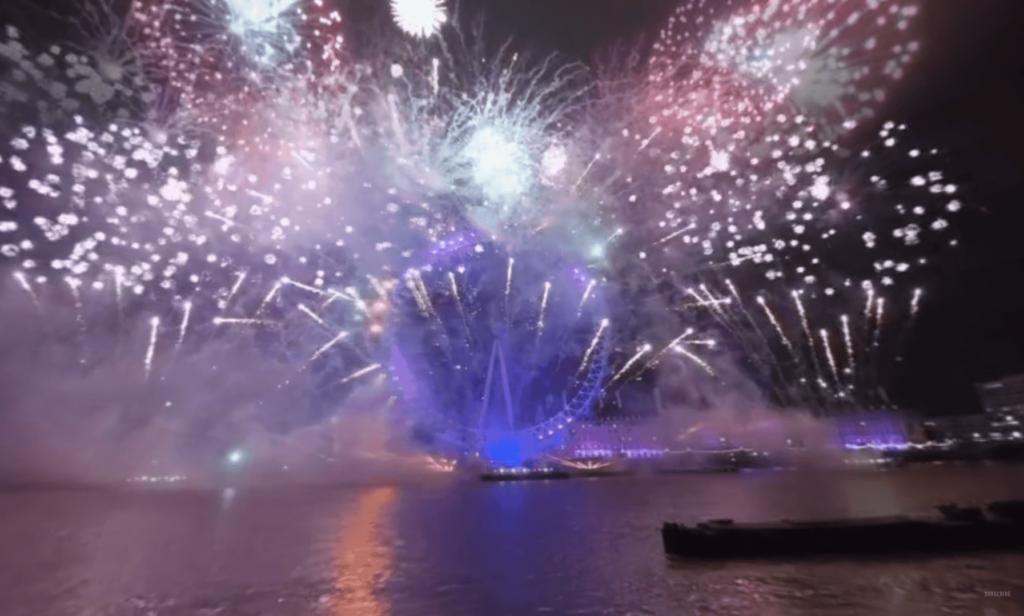 Londons Feuerwerk