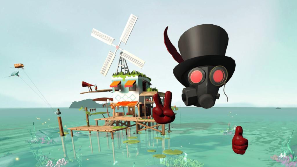 Update Virtual Reality Spiel