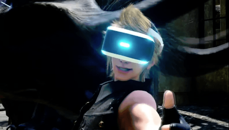 Final Fantasy XV PSVR Support