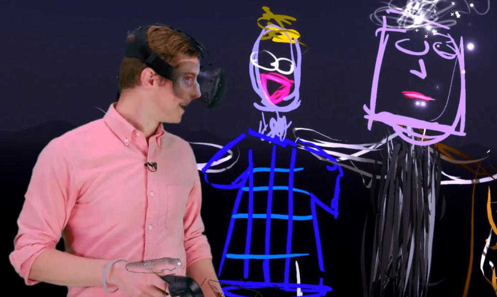 Das eigene Gesicht in Mixed Reality Videos
