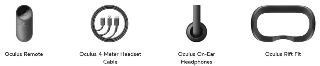 Kopfhörer, Kabel für Oculus Rift