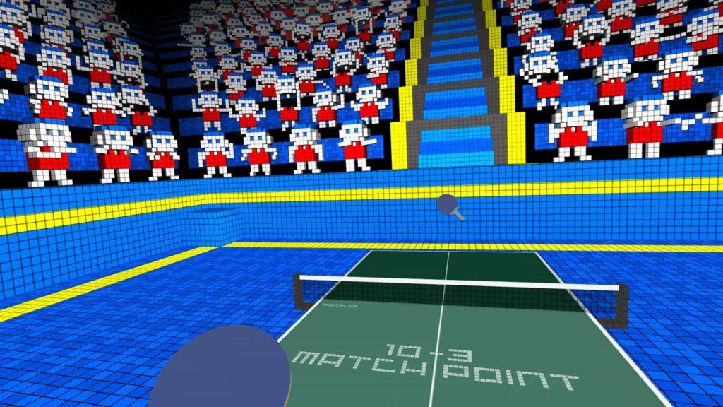 VR Ping Pong mit PSVR