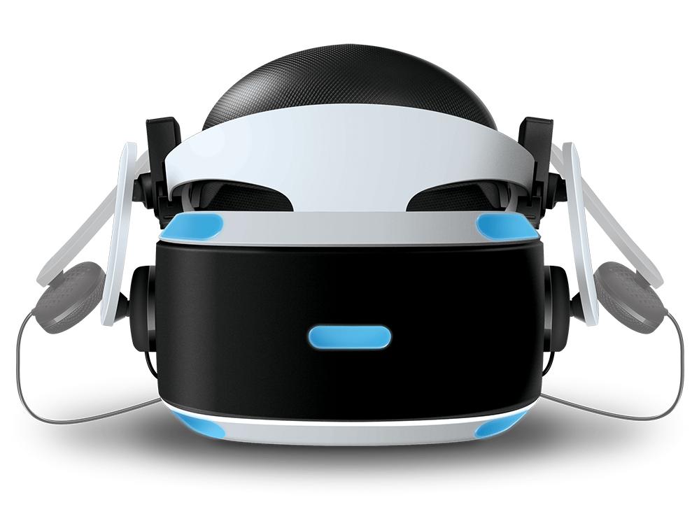 Ansteckbare Kopfhörer für PSVR