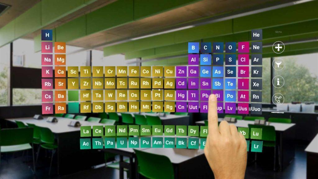 MyLab-Microsoft-HoloLens-Periodensystem