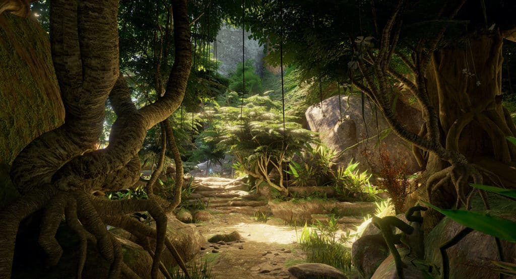 Obduction mit Motion Controller