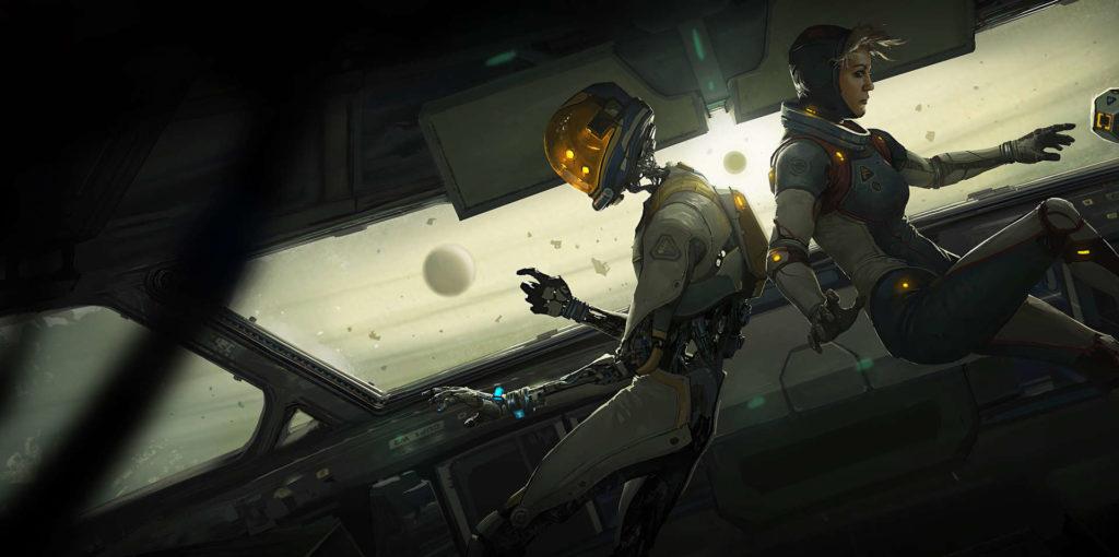 Space Adventure Lone Echo Oculus Rift
