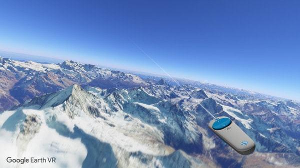 Neue Google Earth VR Erfahrung
