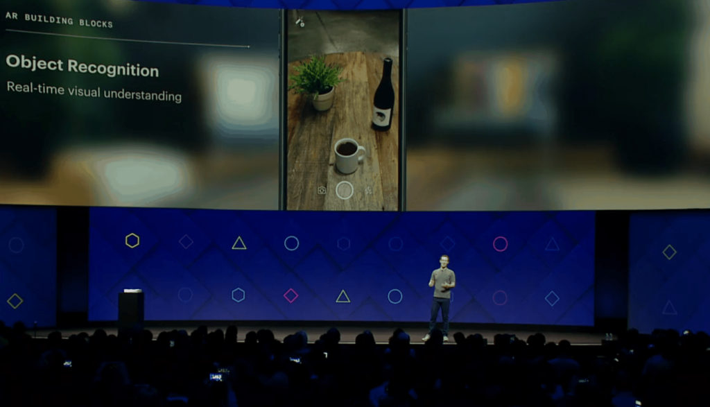 Mark Zuckerberg AR Smartphone