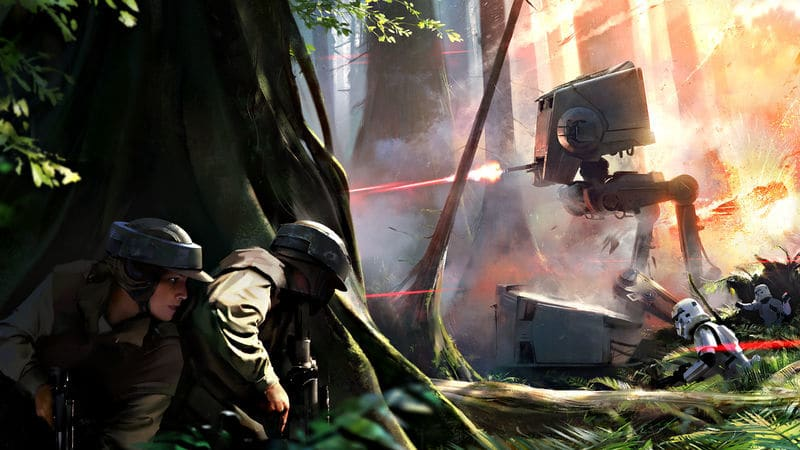 Battlefront 2 VR Erfahrung