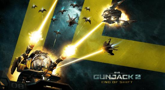 Gunjack 2 End of Shift Logo