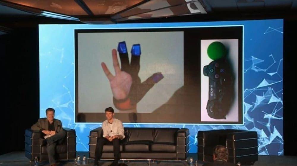 Sony zeigt VR-Handschuh