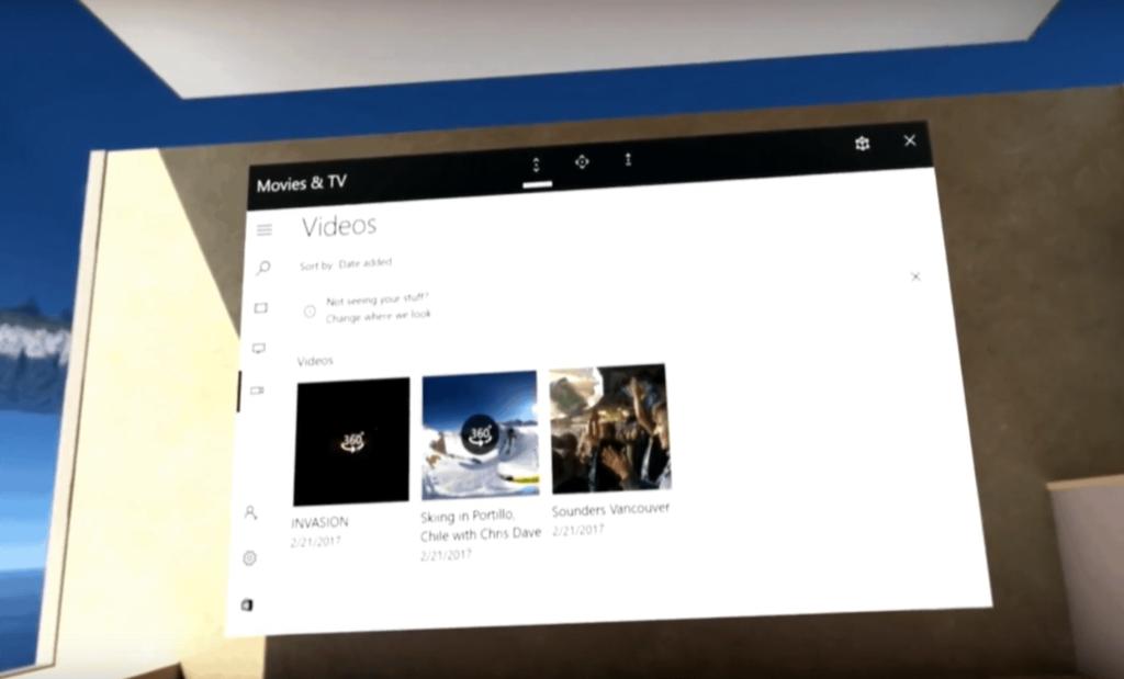 Windows VR 2