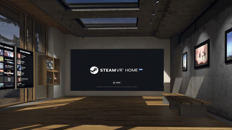 SteamVR-Home