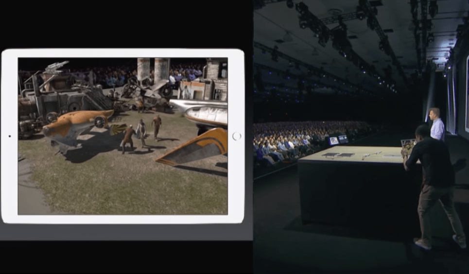 Augmented Reality Demo Apple