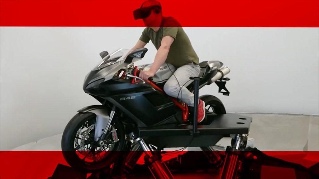 Motorrad-Simulator von Cruden