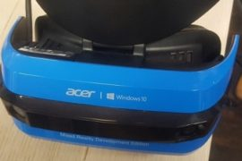 Acer VR-Brille und Windows 10 VR
