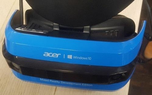 Acer VR-Brille und Windows 10 VR