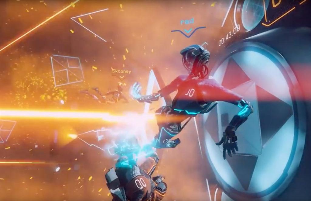 Echo Arena bietet futuristische Kämpfe für bis zu vier Spieler