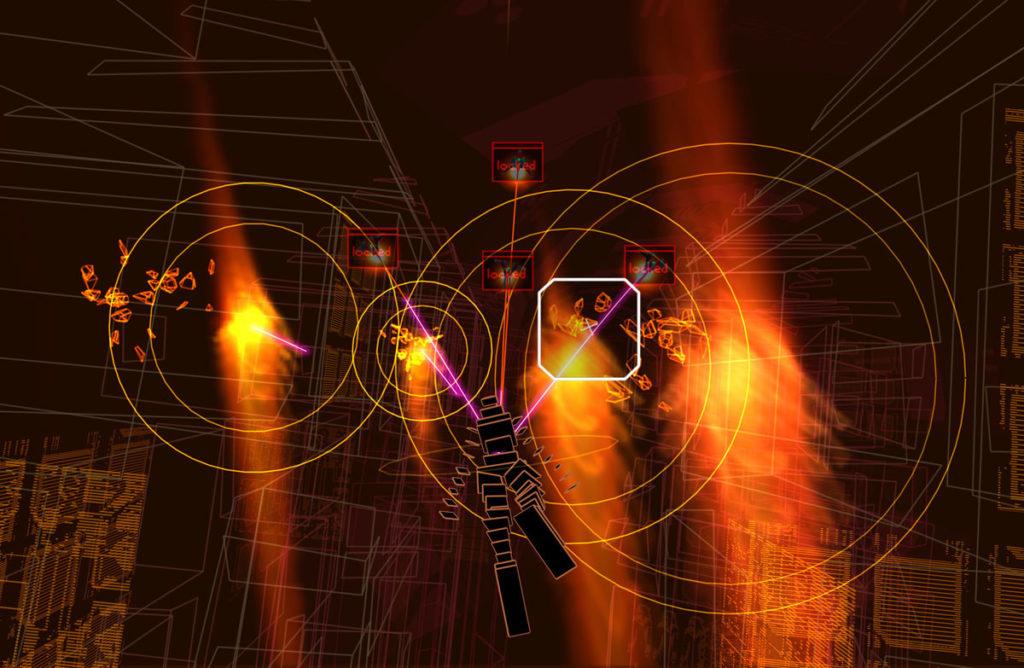 Rez Infinite VR Rift Vive
