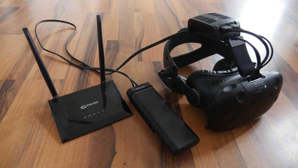 TPCast - Wireless-Modul für HTC Vive