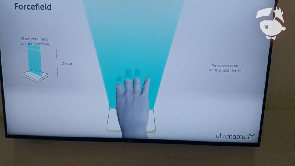 Ultrahaptics VR Feedback