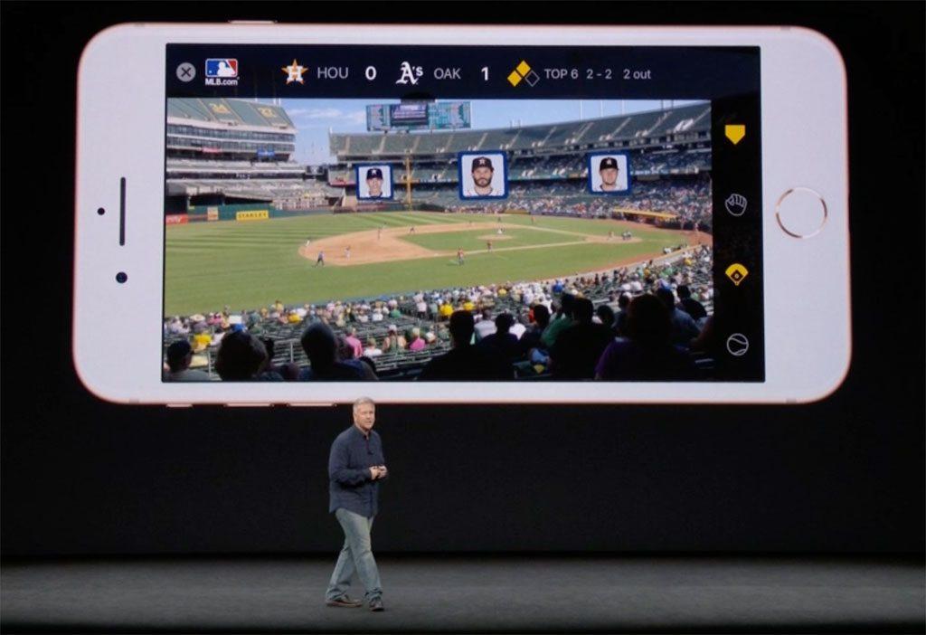 Apple iPhone AR Major League Baseball