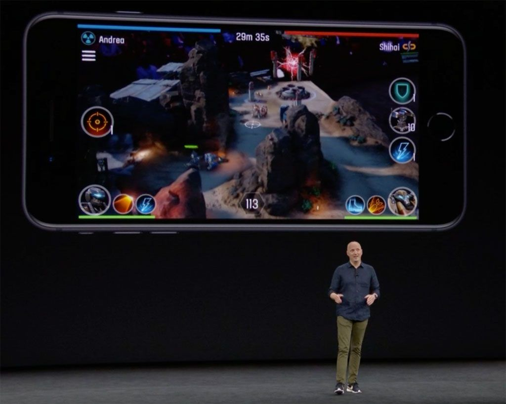 Apple iPhone AR The Machines