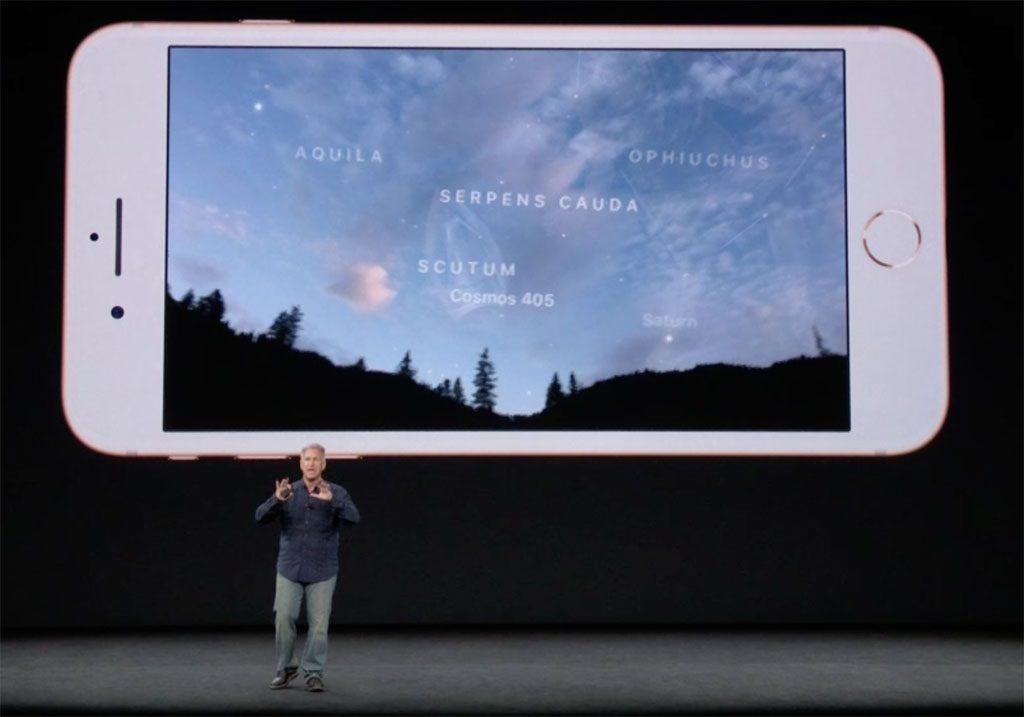 Apple iPhone AR Sky Guide
