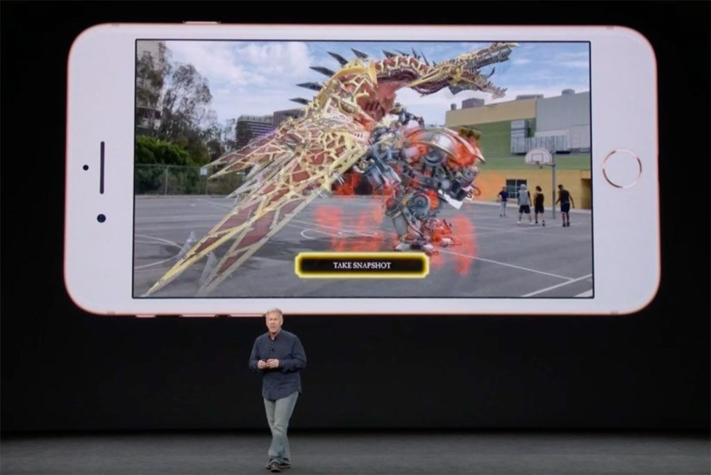 Apple iPhone AR Warhammer 40k: Freeblade