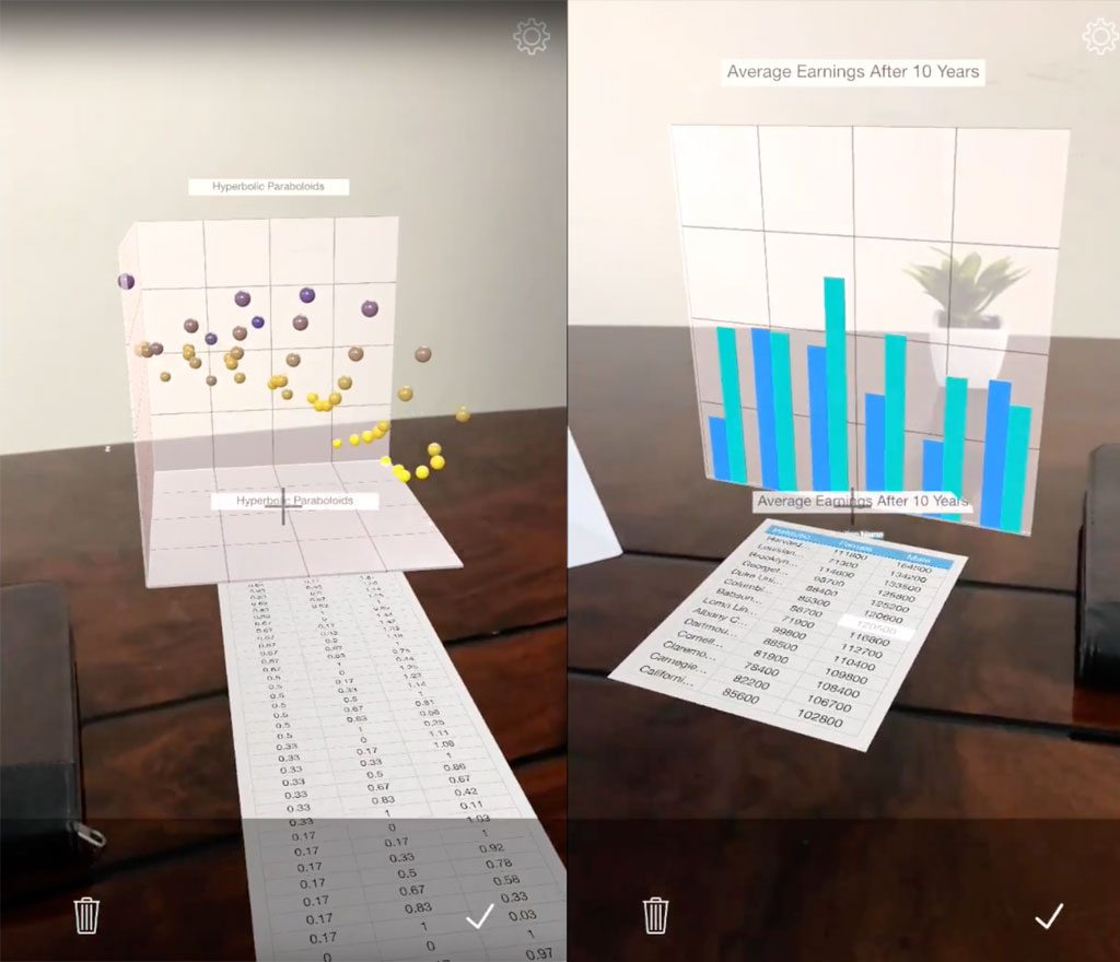 Graphmented iOS ARKit Augmented Reality