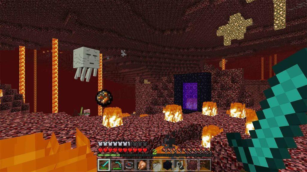 Minecraft VR Mixed Reality