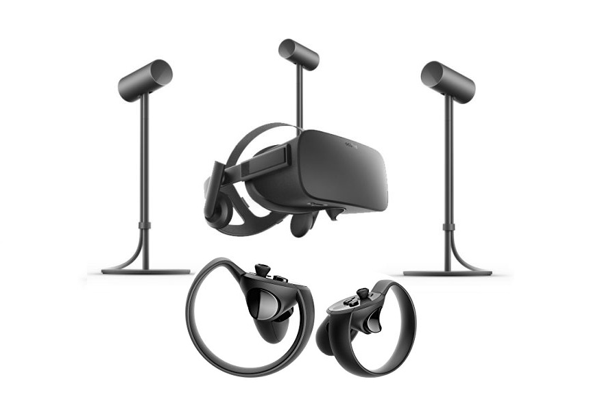 Oculus Rift Im Room Scale Setup
