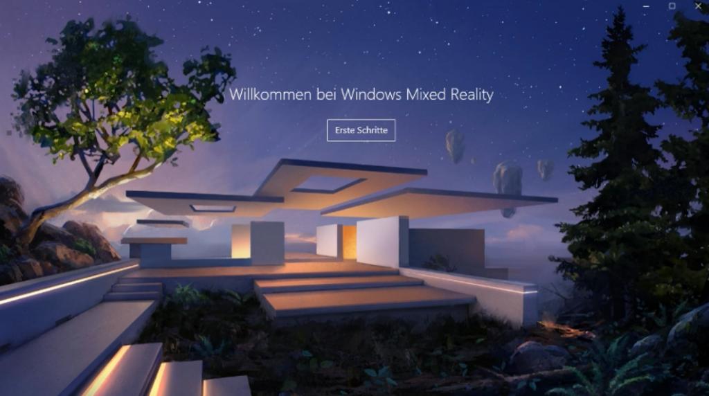 Willkommen Windows Mixed Reality