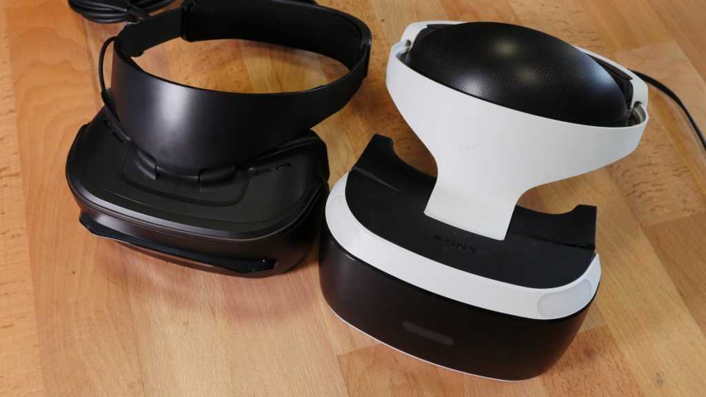 Lenovo Explorer vs psvr