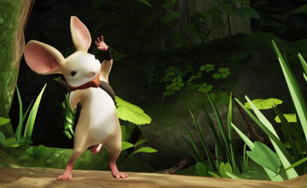 Moss für Sony PSVR Maus