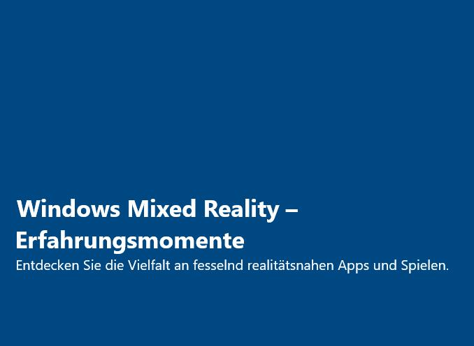 Windows MR