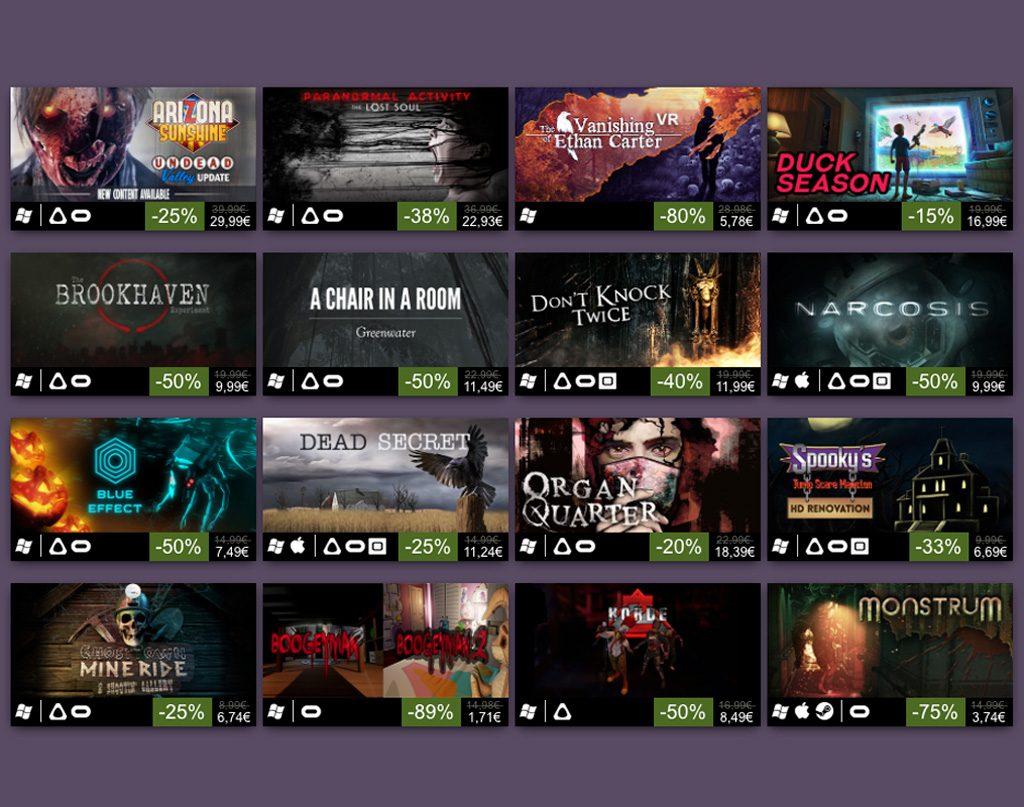 Halloween Steam Aktion Rabatte VR