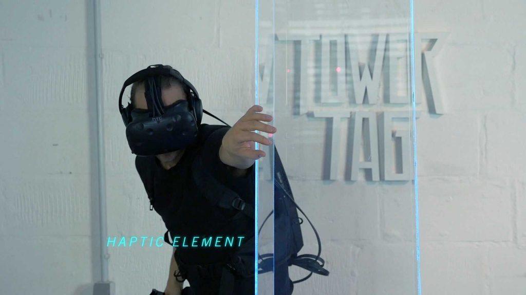 Virtual Reality arcade shooter