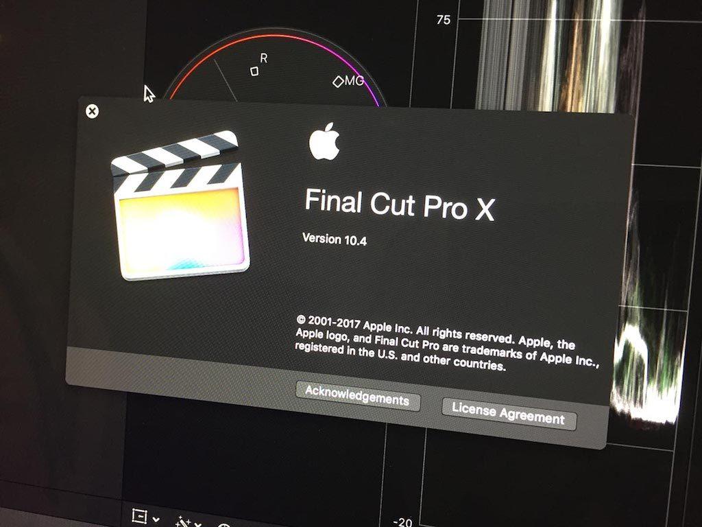 Apple Final Cut Pro VR