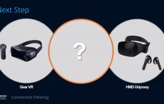 Samsung autarke VR Brille