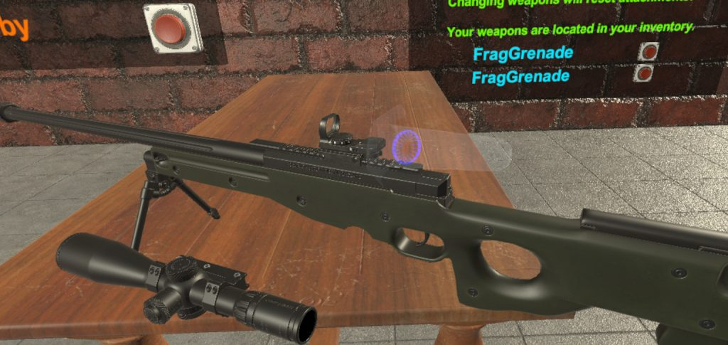 BAM VR Sniper