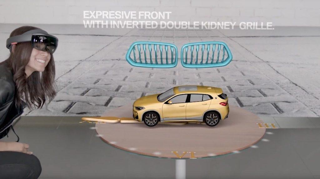 BMW HoloLens Microsoft